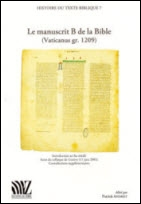 Le manuscrit B de la Bible